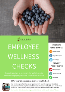 Offer your employees and express health check