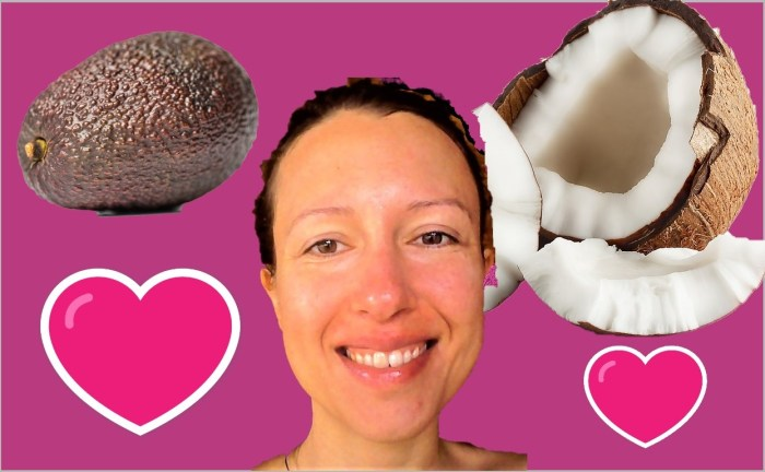 The fats I love on a raw food lifestyle: avocados and coconut oil, our two best friends - Claire Samuel
