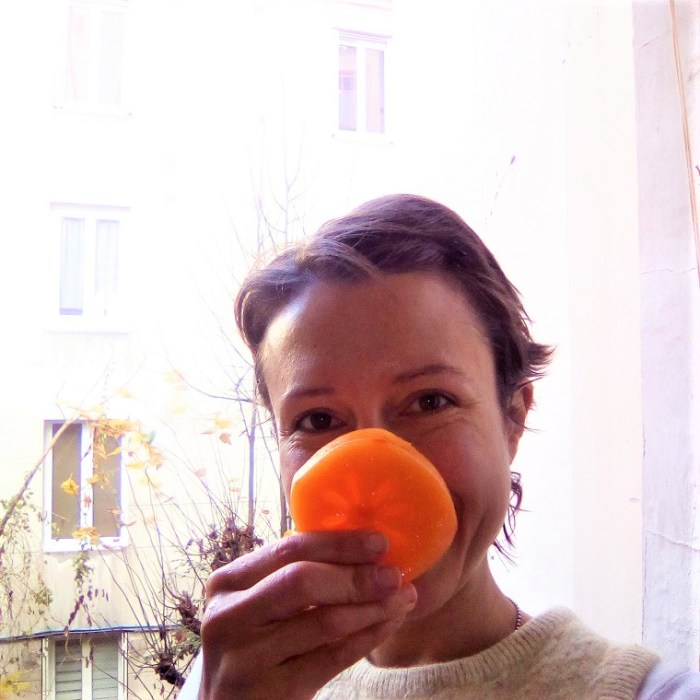 Making eating healthy fun and never taking oneself seriously - Claire Samuel