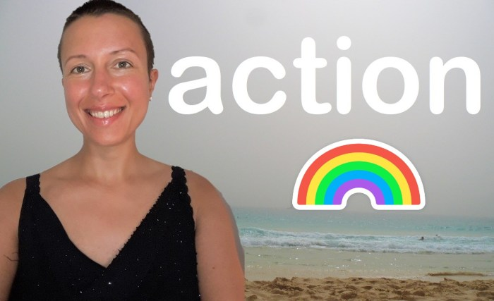 Claire Samuel How to succeed in life? Stay in #action mode