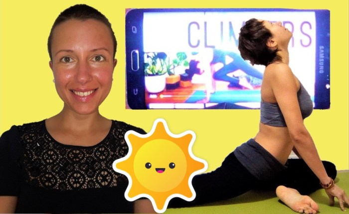 How to #exercise if I do not have enough time? the internet and opportunities to get fit at home Claire Samuel