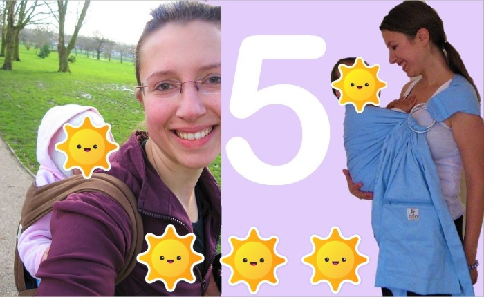 My best 5 safety tips for #babyearing on the go Claire Samuel