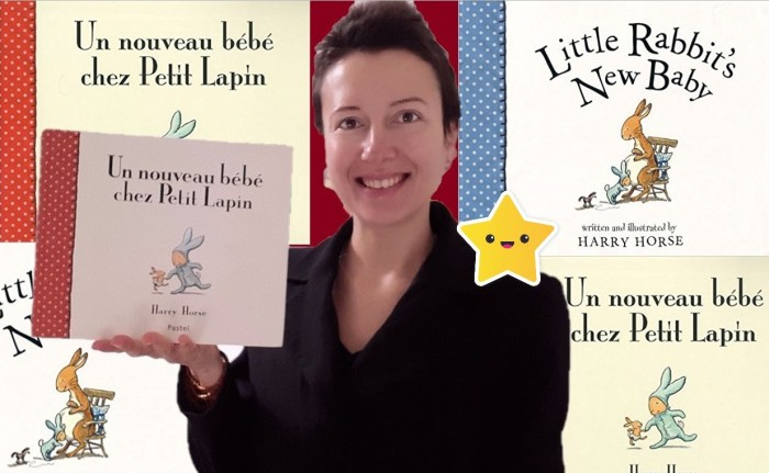 Little Rabbit's New Baby or increasing our emotional connexion to our children #childrenbook