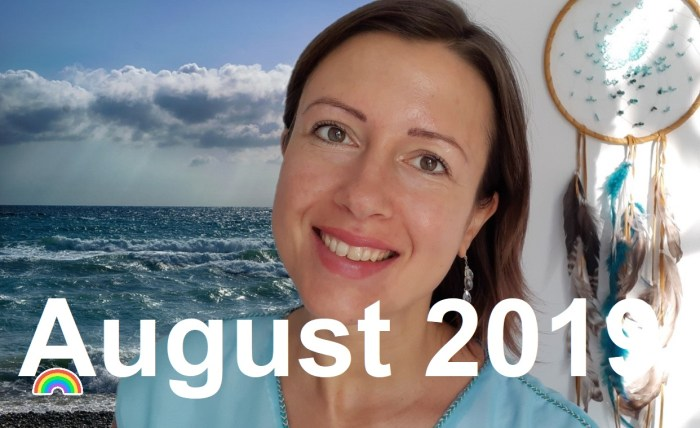 How was August 2019 or #myownmonth