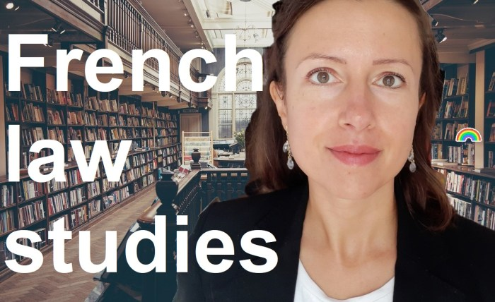 How to start #law studies in France? #books and methodology