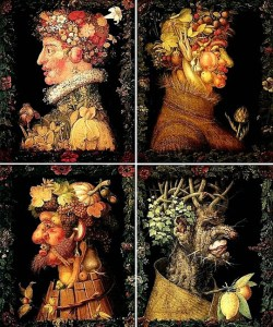 TN-ad.Giuseppe Arcimboldo The Four Seasons, 1573
