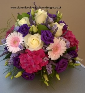 Floral gift posy