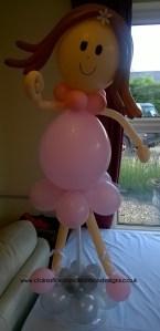 Balloon ballerina