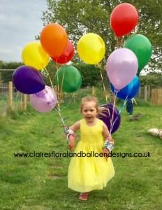 The joy of balloons!