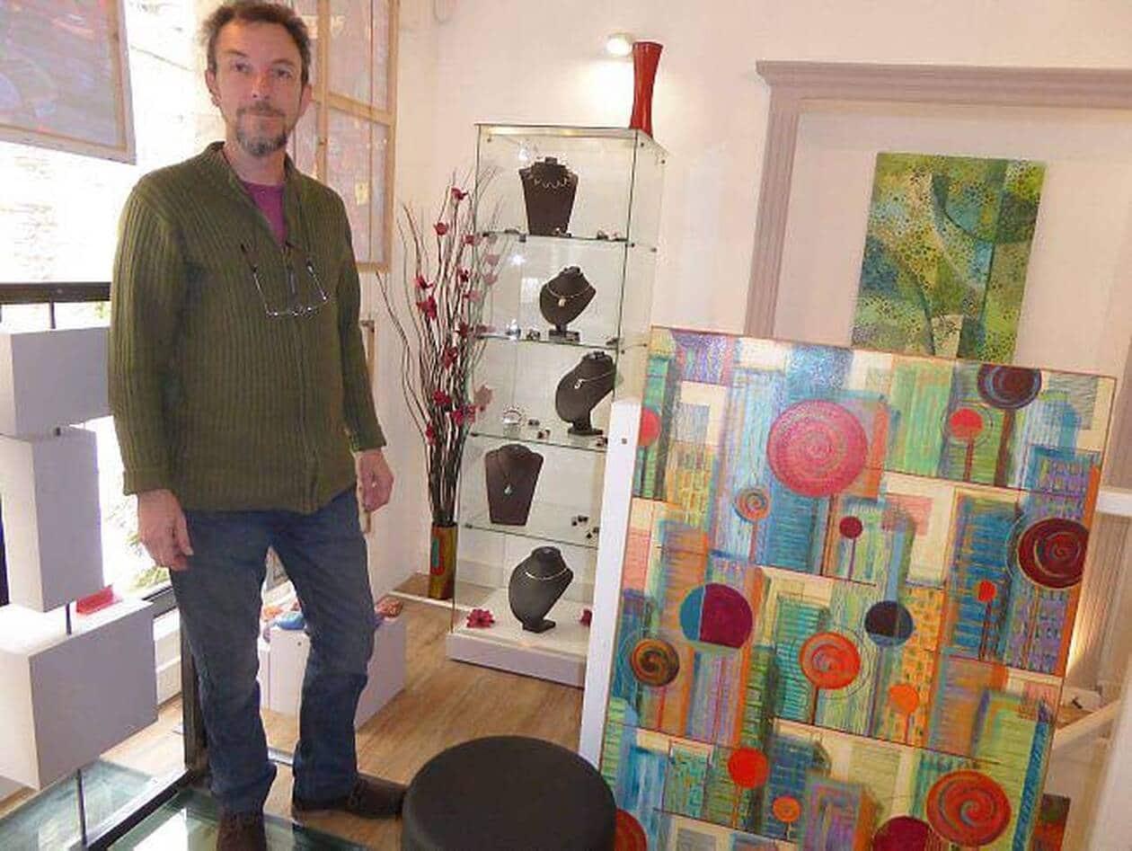 Dufresne : des bijoux et des toiles AVRIL 2015