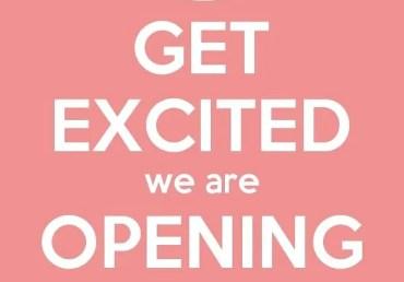 We're Reopening!???