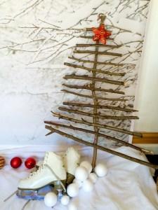 Making a Twig Christmas Tree