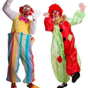 Clowns at work