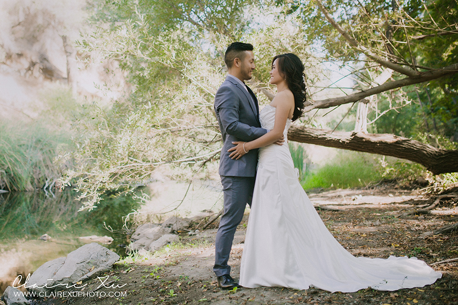 Oak Canyon Ranch Wedding Bridal Portrait