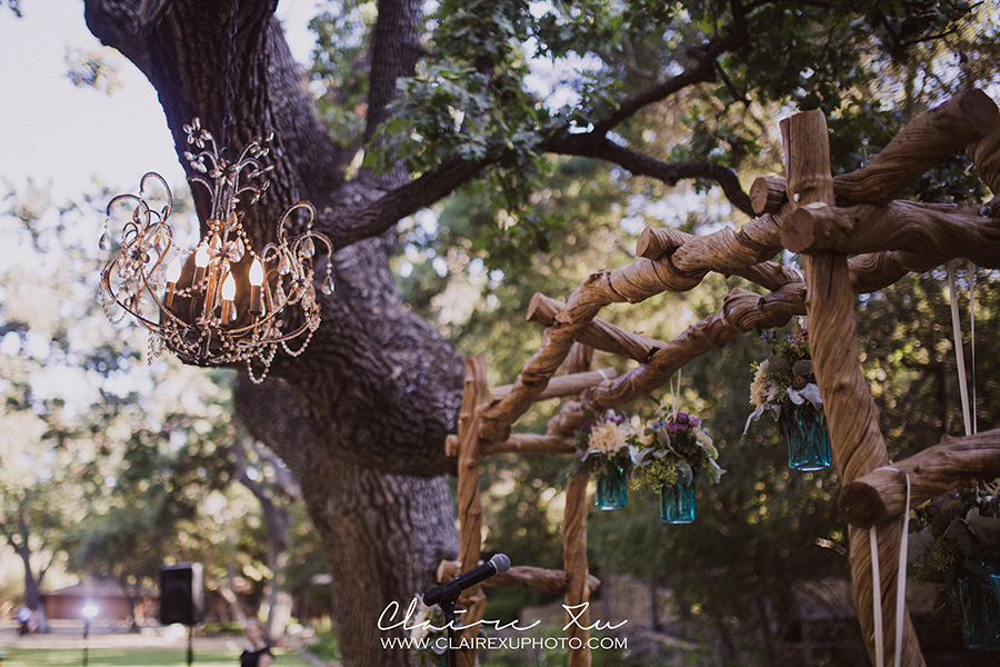 Oak Canyon Ranch Wedding Ceremony Detail