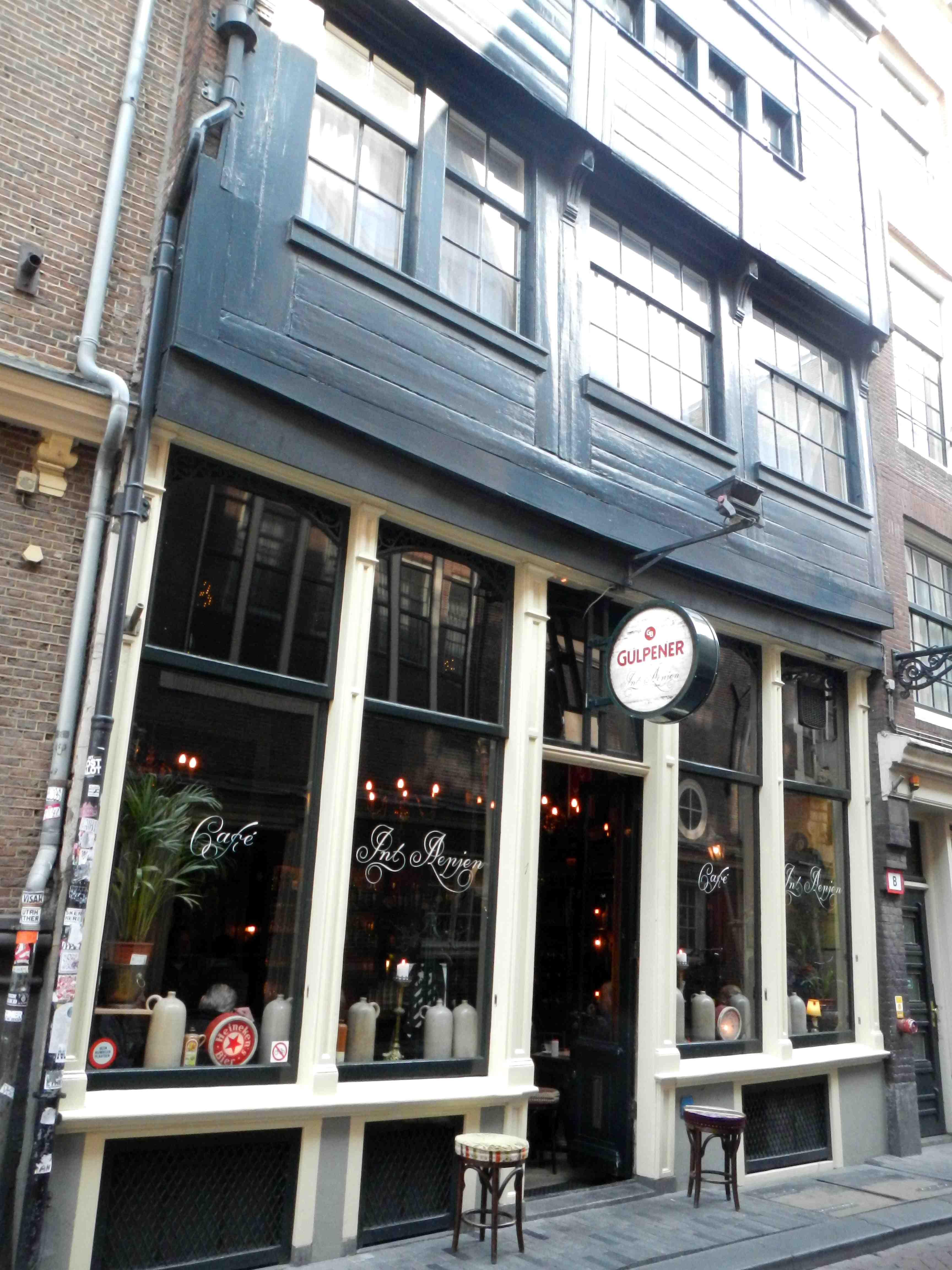 Immeuble en bois Amsterdam
