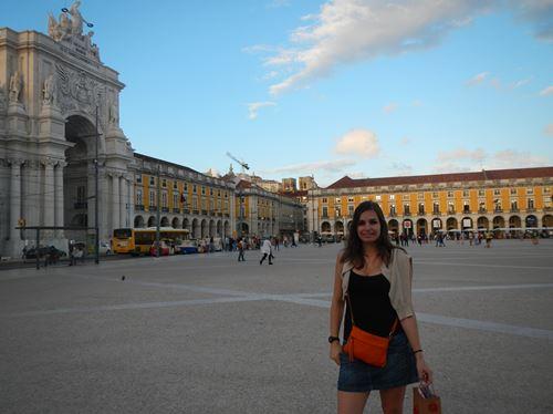 Lisbonne Praça do Comercio