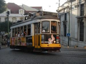 Joli Tramway à Lisbonne