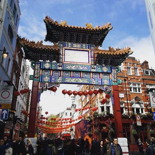 Londres - Chinatown - Claironyva