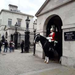 Londres- Garde montée