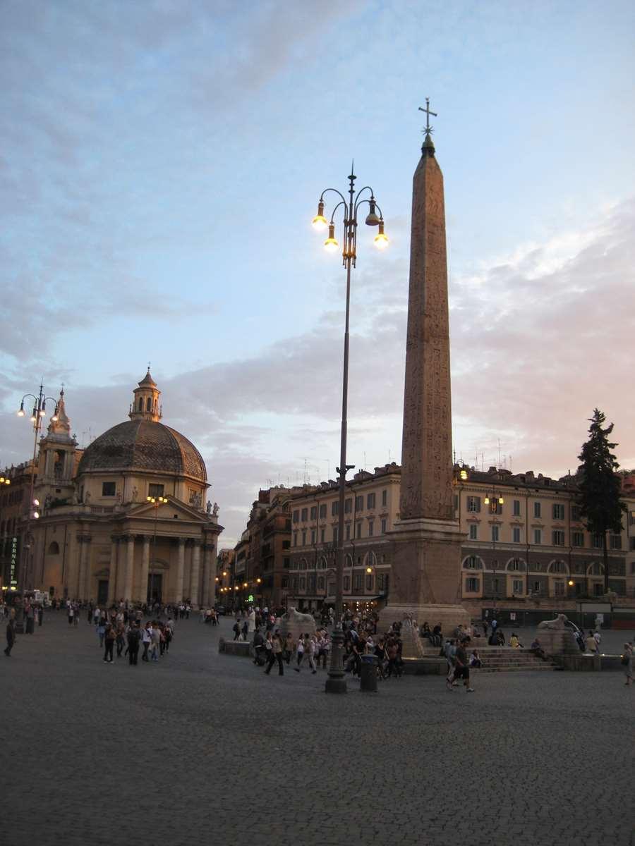 Italie - Rome - Piazza del Popolo Claironyva