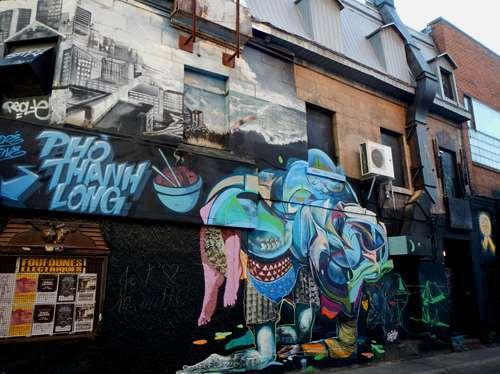 Canada Montréal Claironyva Street Art