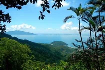Vietnam - Vue sur la baie de Danang