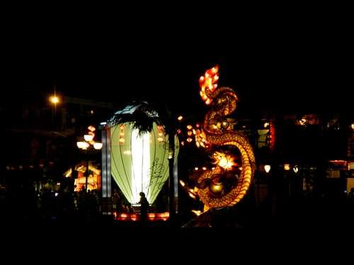 Le symbole de Hoi An : un énorme lanterne ! Vietnam