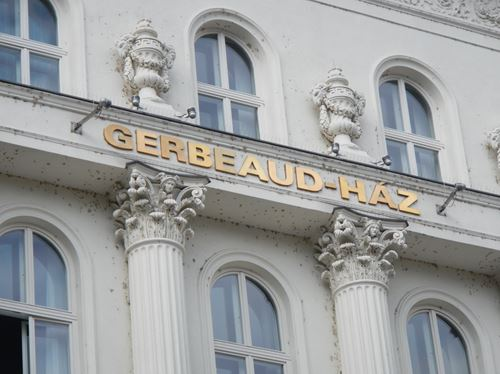 Budapest Café Gerbeaud