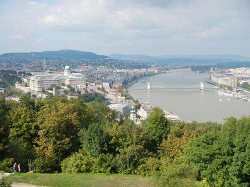 Budapest Vue de la Citadelle
