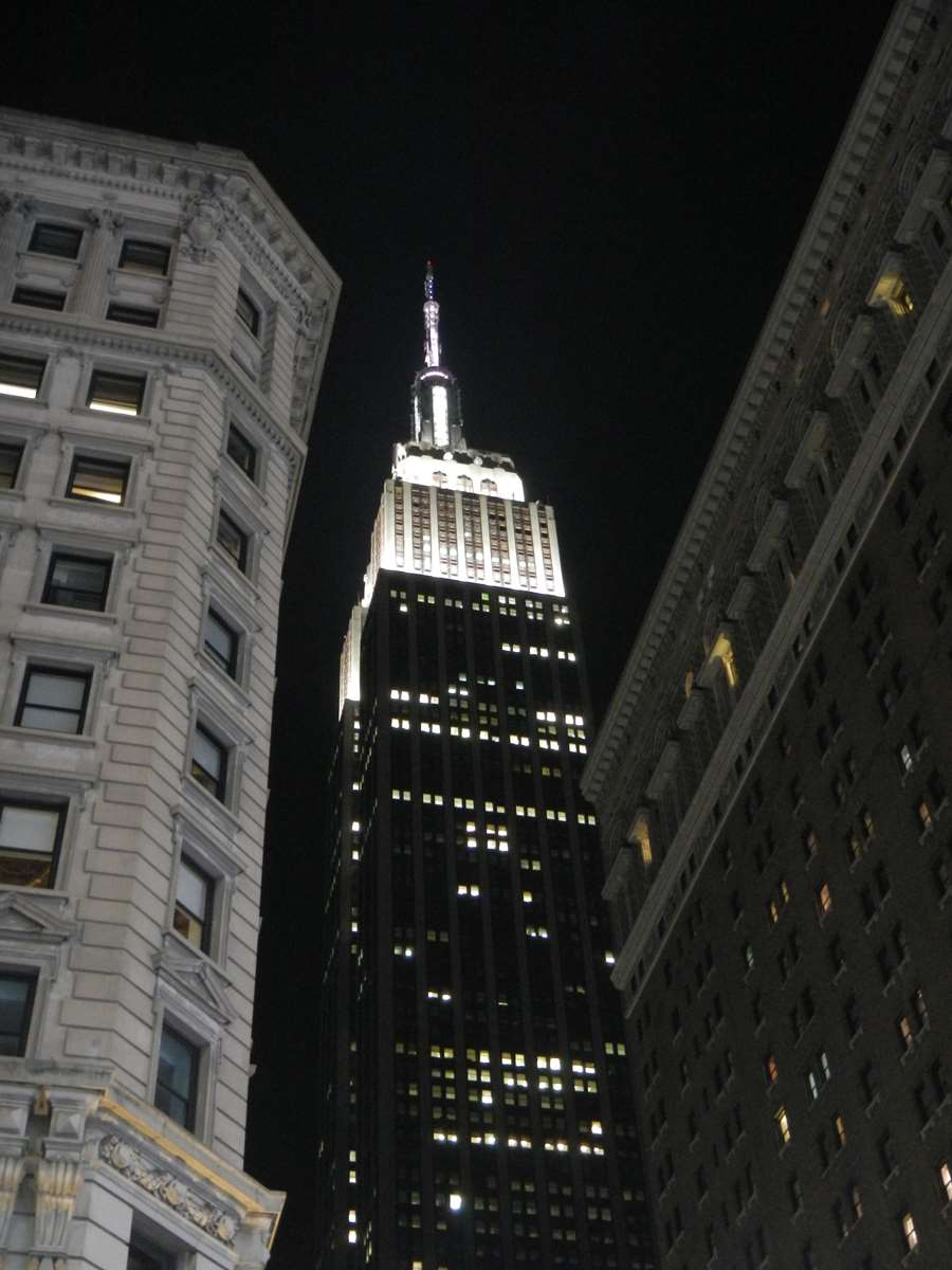 New York - Empire State by Night