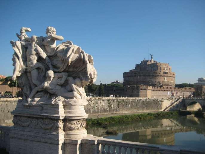 Italie-Rome - Château Saint Ange Claironyva