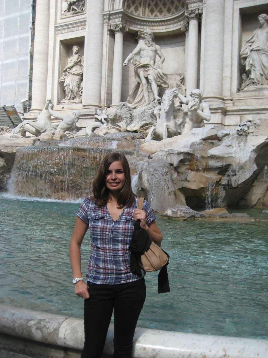 Italie-Rome Fontaine de Trevi
