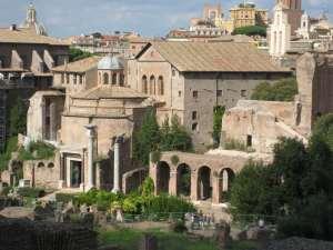 Italie-Rome Forum