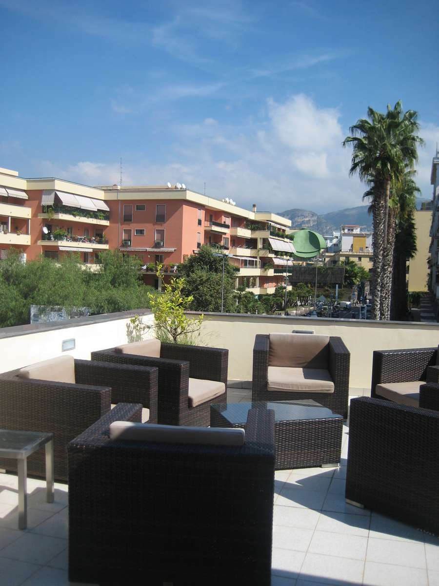 Côte amalfitaine Sorrento, terrasse de l'hôtel Nice