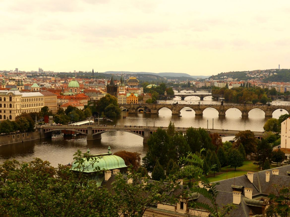 Claironyva Week end les Ponts de Prague