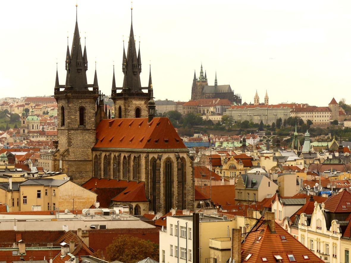 Prague Claironyva Tour Poudrière