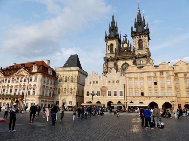 Prague Place de la Vieille Ville Claironyva