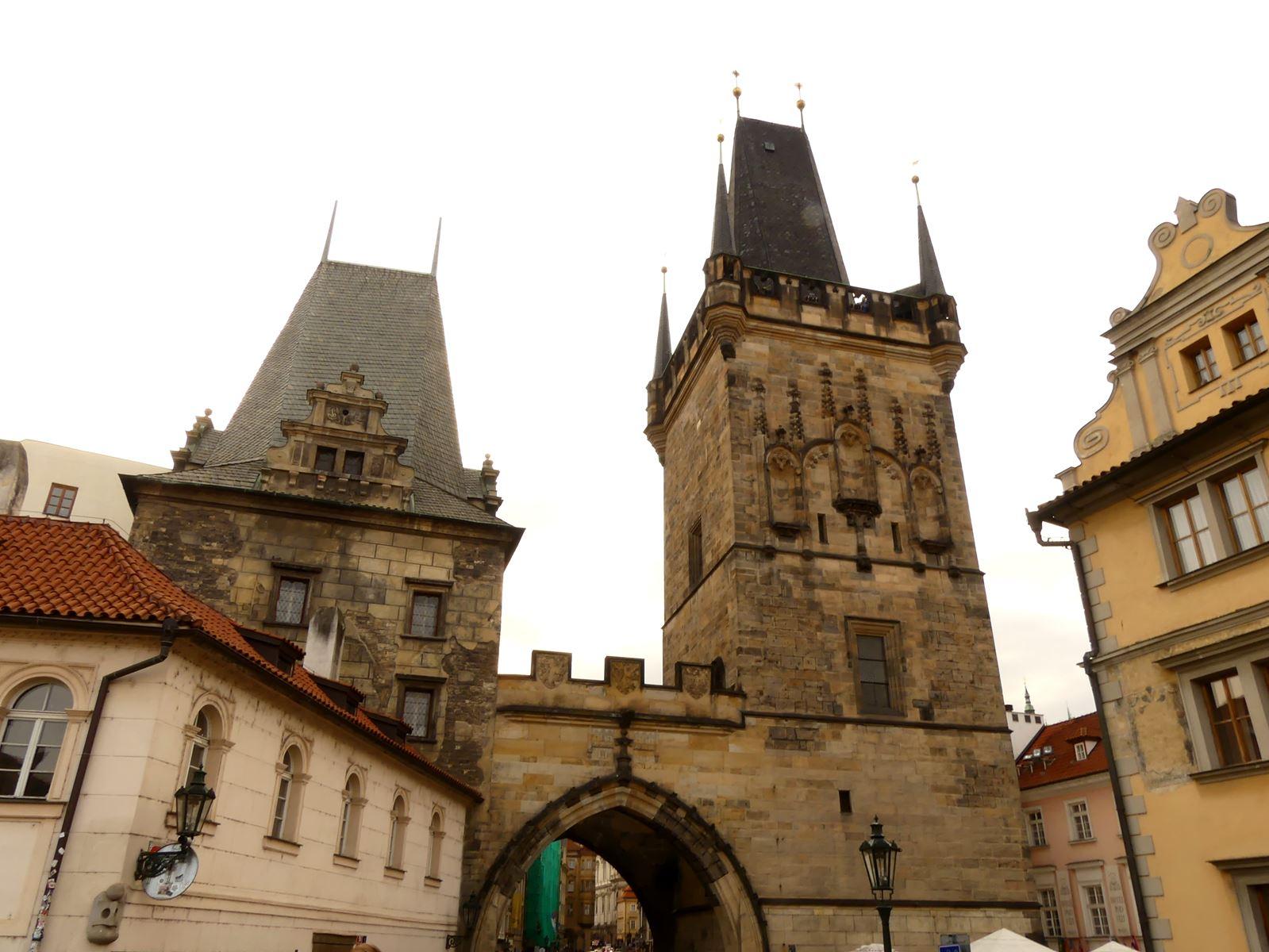 Prague Pont Charles Claironyva