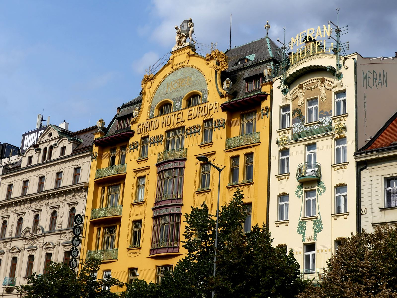 Prague Claironyva Art nouveau