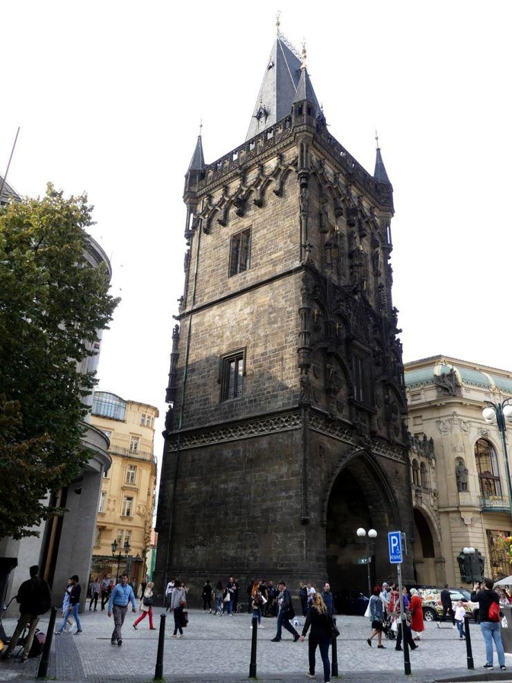 Prague la Tour de la Poudrière