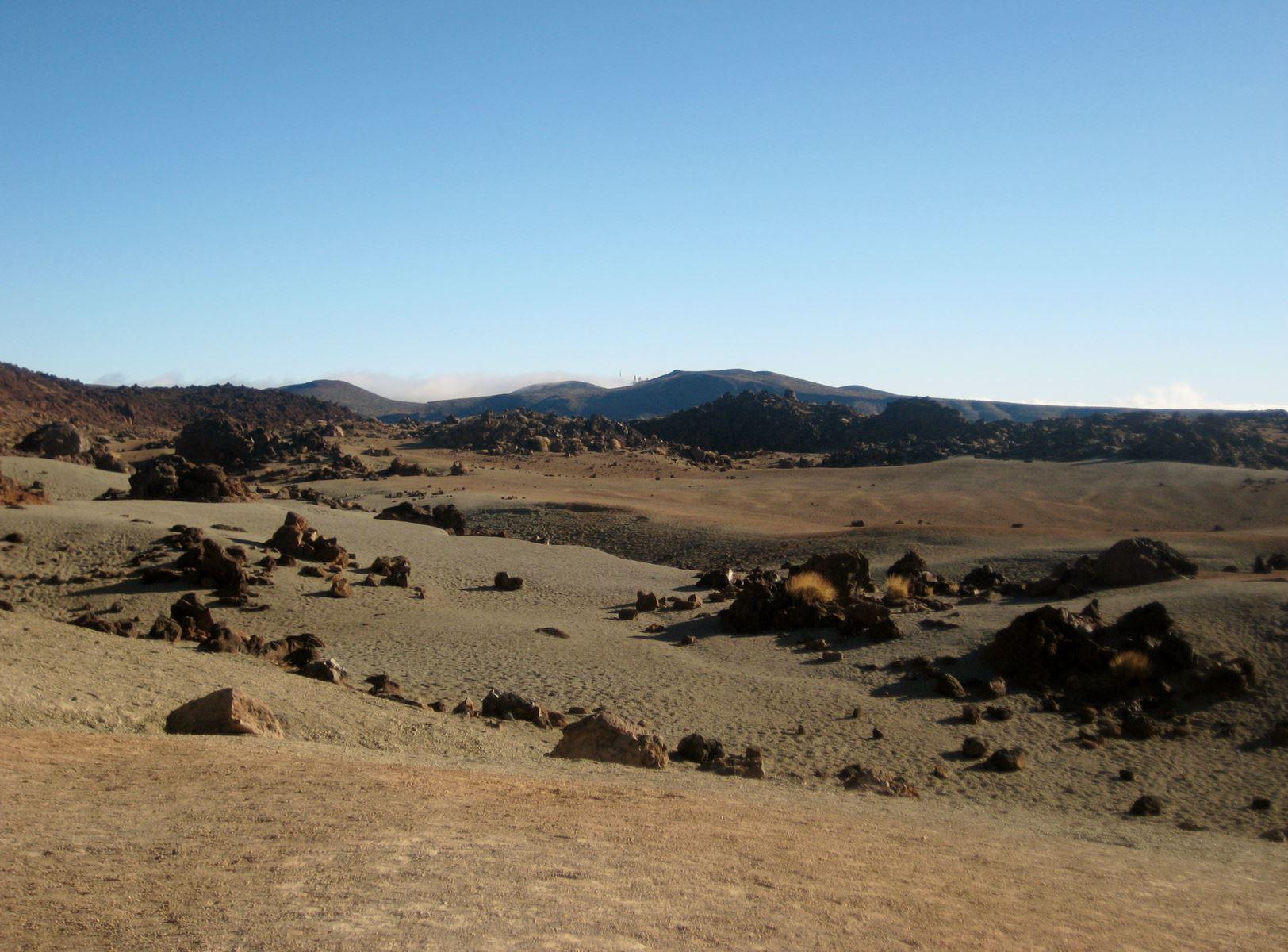 Tenerife en route pour le Teide, paysage lunaire - Claironyva