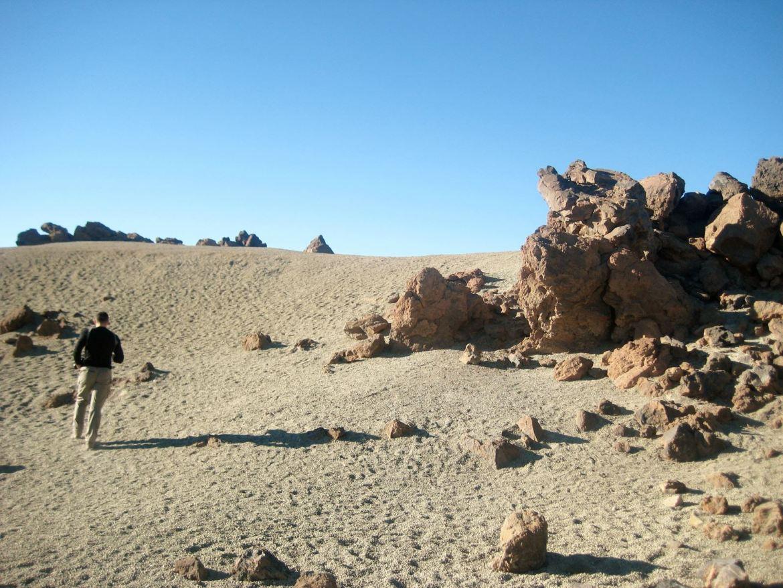 Tenerife en route pour le Teide Paysage lunaire