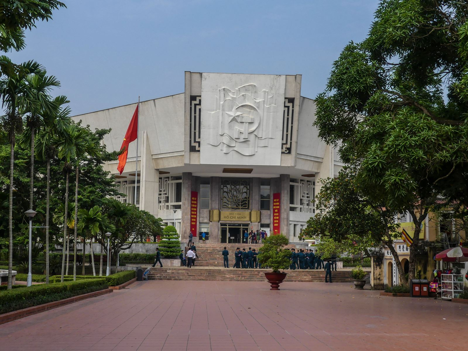 Claironyva Vietnam Hanoï Musée d'Ho Chi minh