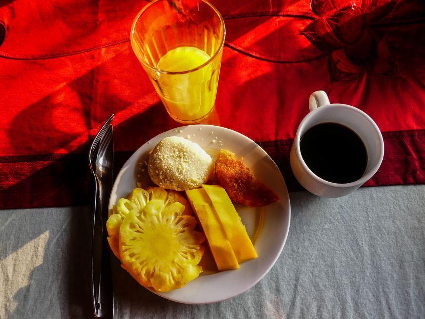 Tam Coc Chez Loan Petit déjeuner - Baie d'Halong terrestre