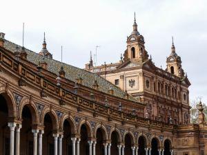 Claironyva Séville Place d'Espagne