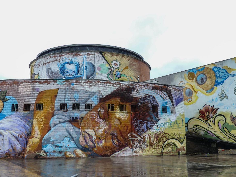 Claironyva -Voyage solo à Séville - Plaza de Armas - Street Art