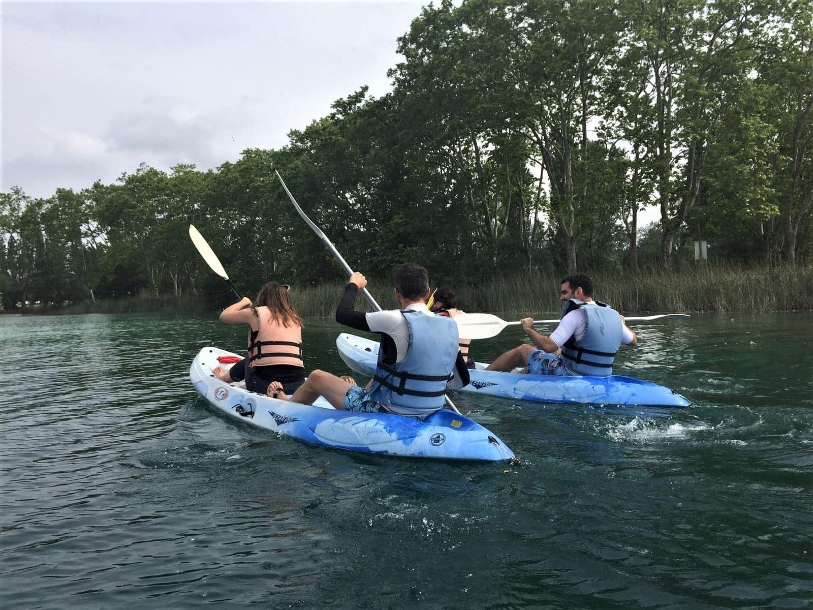 Claironyva Catalogne Garrotxa Banyoles Kayak