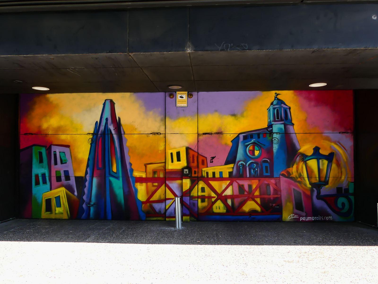 gerone claironyva week end- street art