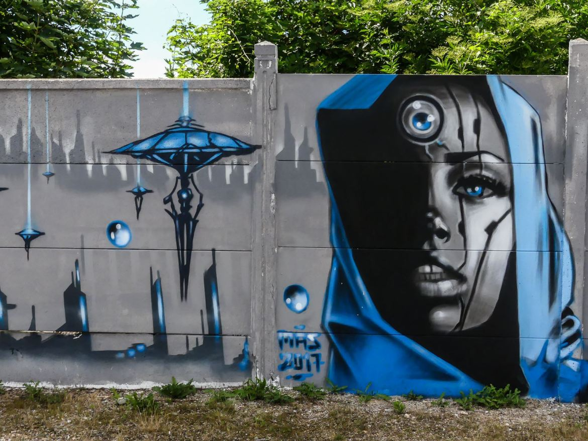 Claironyva France Reims street art